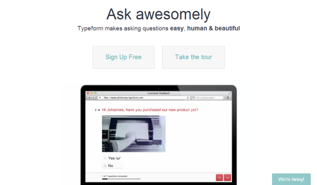 Typeform 15 Growth Hacking Tools Every Growth Hacker Must Have
