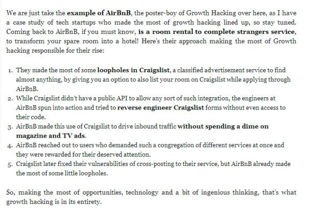 AirBnb3 How 11 Popular Companies Have Applied Growth Hacking Techniques