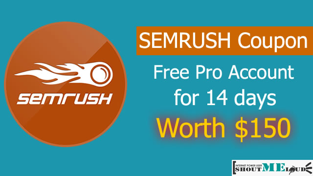 Semrush Coupon Free account