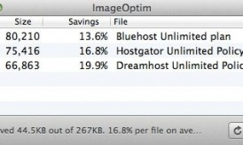 Best Free Image Compressor for Mac : ImageOptim