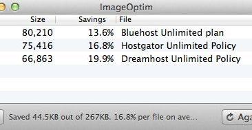 Best Free Image Compressor for Mac : ImageOptim