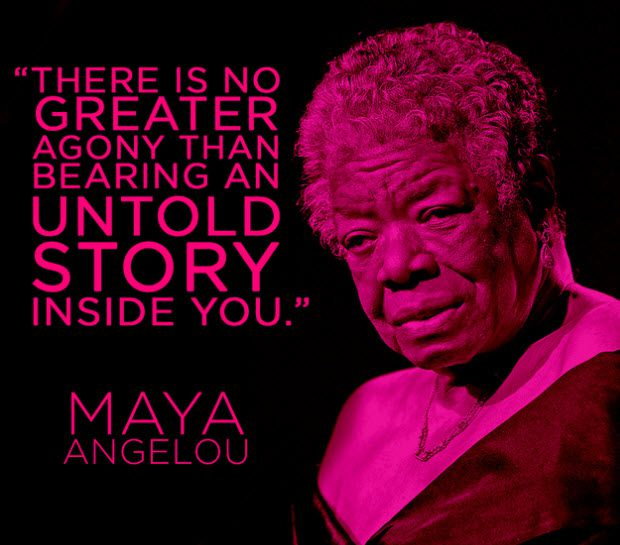 Maya angelou 10 Things Creative Writing Can Teach You About Blogging Better
