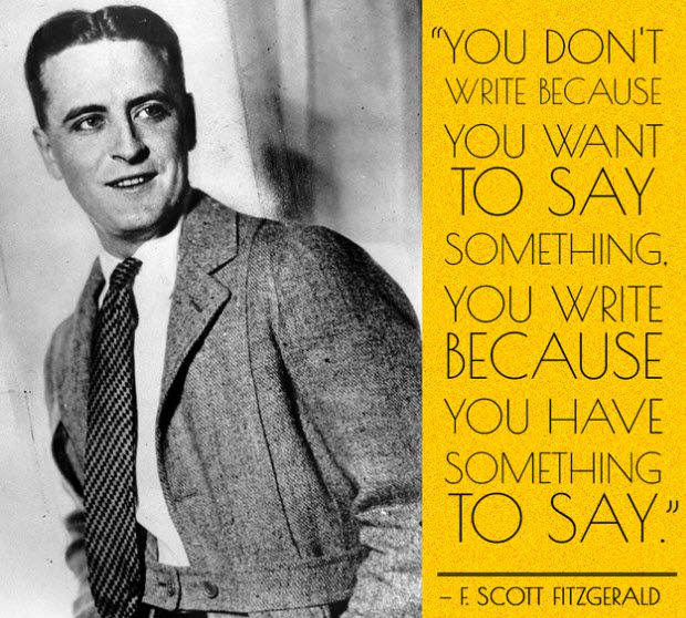 Scott Fitzgerald 10 Things Creative Writing Can Teach You About Blogging Better