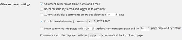WordPress Comment settings How To Prevent WordPress Spam Comments With Smartness And Plugins