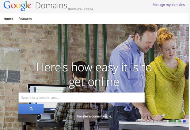 buy domains from Google