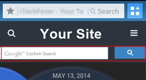 wptuch custom search
