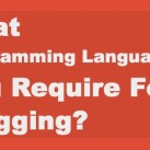What Programming Language Skills You Require For Blogging?