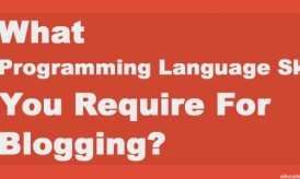 What Programming Language Skills Do You Require For Blogging?