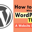 How To Find Which WordPress Theme Is Being Used By A Blog