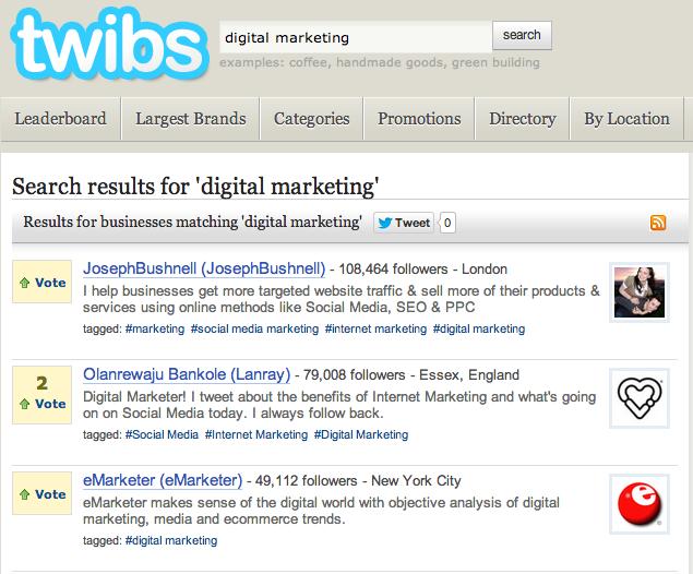 Twibs-Twitter-Directory