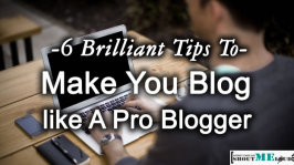 6 Brilliant Tips To Make You Blog like A Pro Blogger
