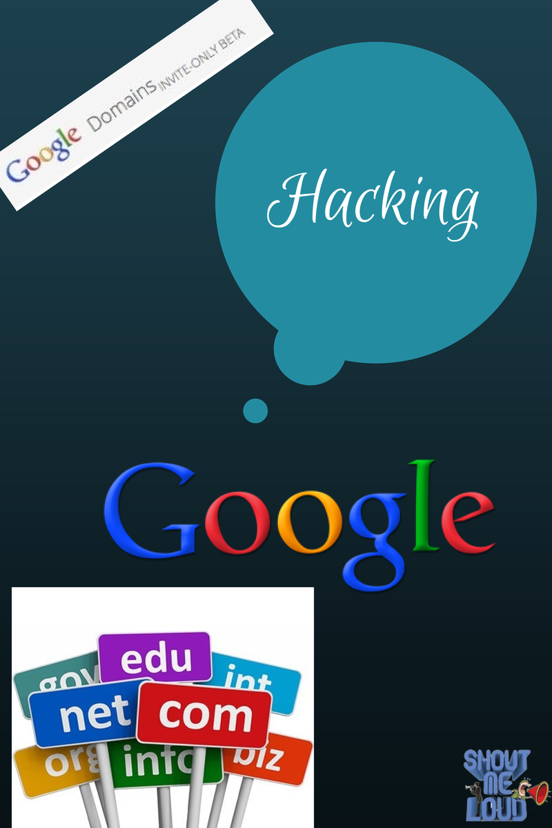 Google domains hacking
