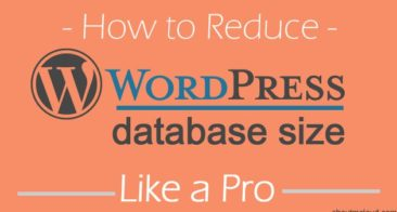 How To Reduce WordPress Database Size To Improve Blog Performance