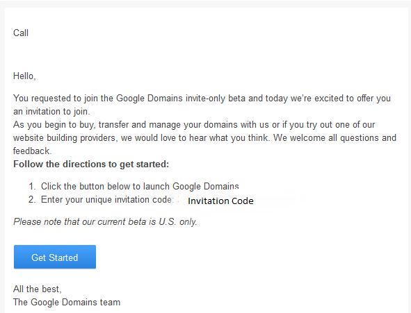 Google domains hack