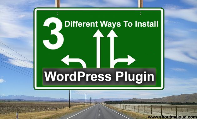 Ways to Install WordPress Plugins1