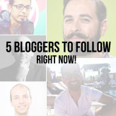Top 5 Bloggers To Follow Right Now To Learn Blogging