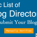 Directories To Submit Blog 150x150