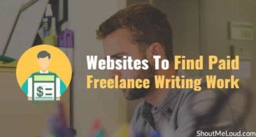 5 Websites To Find Paid Freelance Writing Work: [Updated]