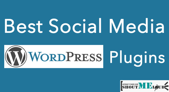 The 9 Best WordPress Social Media Plugins Of 2016