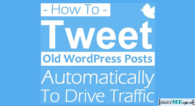 Tweet Old WordPress Posts