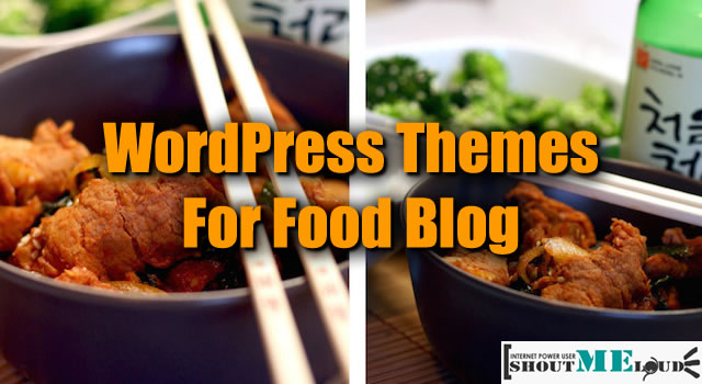 WordPress Themes for food blog