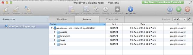 WordPress plugin repo