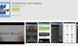 Learn Blogging on Your Android SmartPhone With ShoutMeLoud App