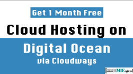 Get 1 Month Free Cloud Hosting on Digital Ocean via Cloudways