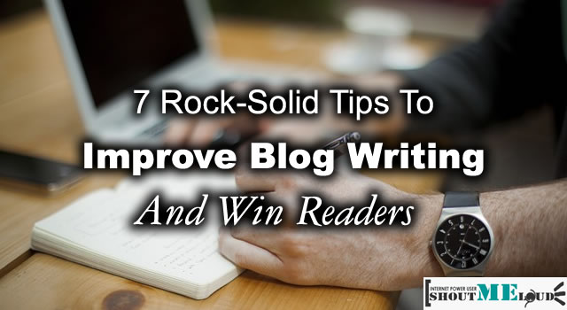 Improve Blog Writing