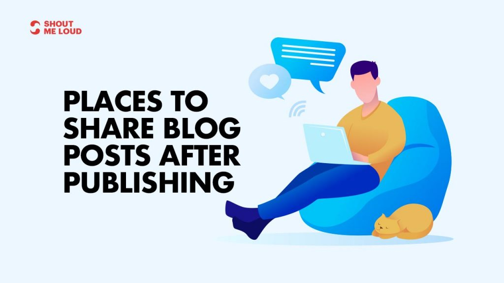 Places To share blog posts
