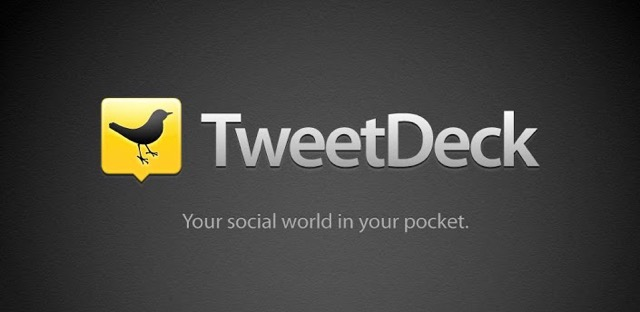 Tweetdeck twitter desktop tool