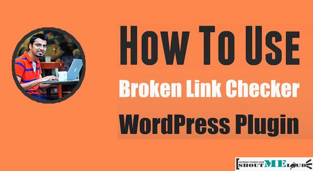 Use Broken Link Checker