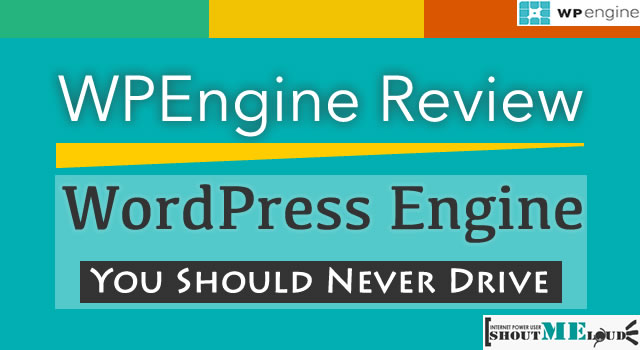 WordPress Engine You Should Never Drive