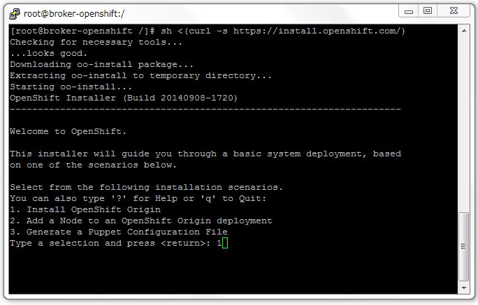 Install OpenShift on RHEL