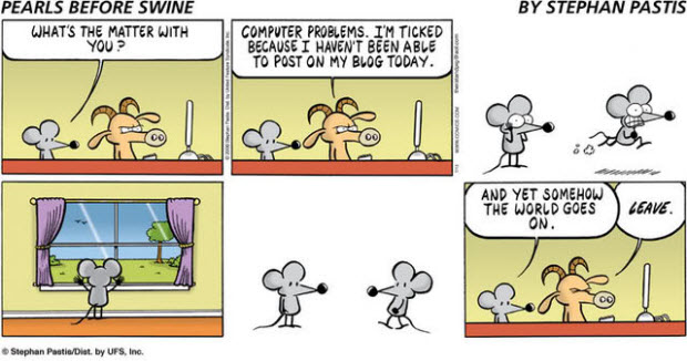 pearls before swine blogging comic