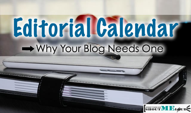 Editorial Calendar For Blog