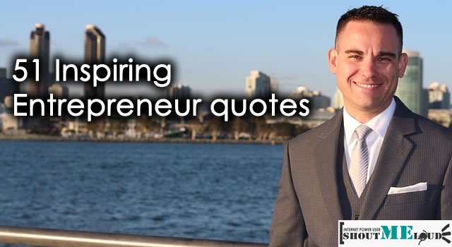 Inspiring Entrepreneur quotes