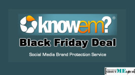 KnowEM Black Friday Deal:  Social Media Brand Protection Service