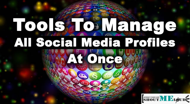 Manage All Social Profiles