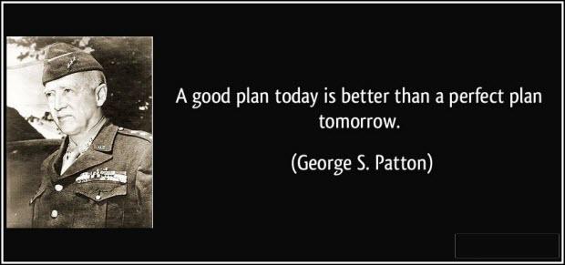 Plan for tomorrow