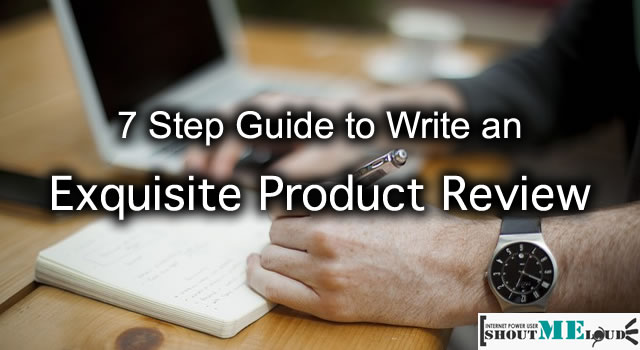 Guide to Write Product Review