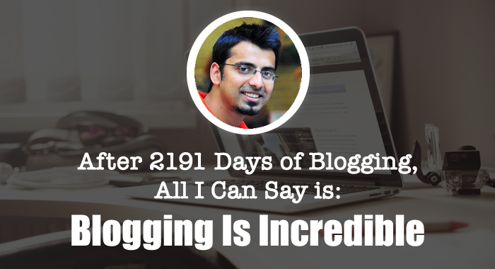 Harsh Agrawal Blogging Journey