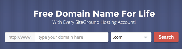 Free domain for life