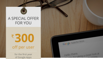 Google Apps Voucher: 2016 [Exclusive offer]