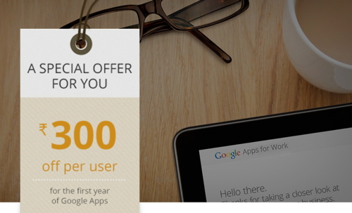 Google Apps Voucher: 2017 [Exclusive offer]