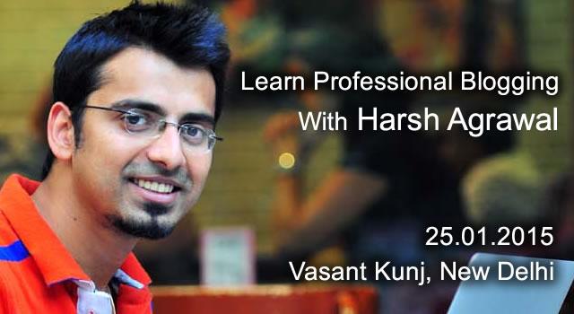 Learn Professional Blogging