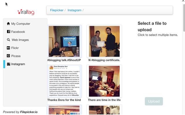 Post Instagram photos to more socila media profile