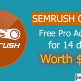 SEMRUSH Deal – SEO Tool