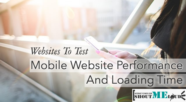 Test Mobile Website