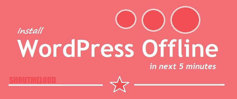 Install WordPress Offline in Windows Using EasyPHP DevServer